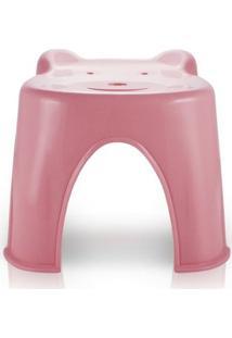 Banquinho Jacki Design Infantil - Feminino-Rosa