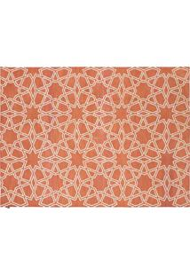 Dhurie Moroccan 9 Rust/White