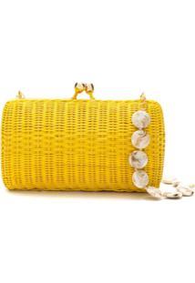 Serpui Bolsa Clutch Denise - Amarelo