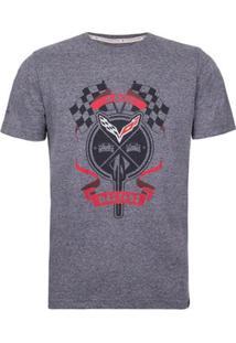 Camiseta Masculina Flags Corvette - Masculino