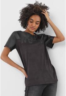 Camiseta Forum Suede Noir Preta - Kanui
