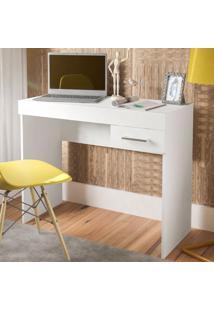 Escrivaninha Cooler 1 Gaveta Branco - Artely