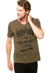 Camiseta Sommer Mini Hoping Verde