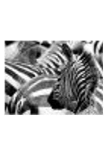 Painel Adesivo De Parede - Zebras - 011Pn-G