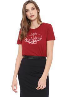 Camiseta Cavalera Riot Vermelha