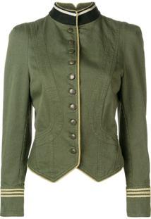 Zadig&Voltaire Jaqueta Militar 'Lana' - Green