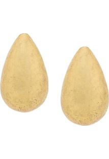 Monies Par De Brincos Oversized 'Claw' - Metálico