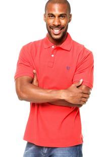 Camisa Polo Mr. Kitsch Basic Vermelha
