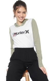 Blusa Hurley One&Only Branca/Verde