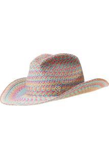 Maison Michel Chapéu Cowboy Austin - Azul
