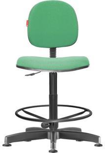 Cadeira Caixa Alta Executiva Giratória Crepe Verde Sol