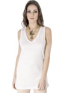Regata Viscose Calvin Klein - Feminino-Off White