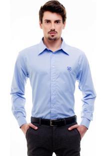 Camisa Hat Trick Leão Azul Clara