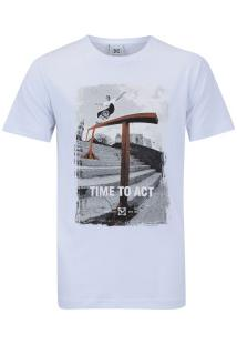 Camiseta Newskate Diego - Masculina - Branco