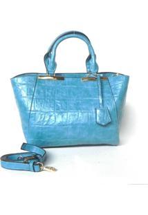 Bolsa Poquet De Mão Azul