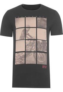 Camiseta Masculina Road Travel - Preta