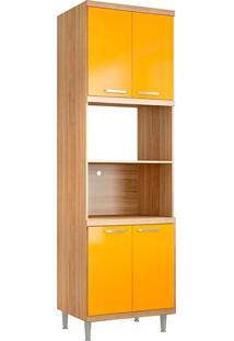 Módulo Para Forno 5120 Sicília - Multimóveis - Argila Acetinado / Amarelo Gema