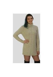 Vestido Fio Londres Outono/Inverno 2020 Bege
