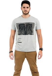Camiseta Bota Mescla - Masculino