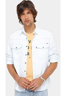 Camisa Jeans Ellus Classic Straight Visco Masculina - Masculino