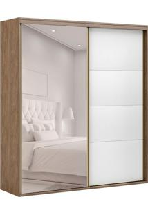 Guarda-Roupa Casal Com Espelho Eleganza 2 Pt 3 Gv Ébano