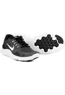 Tênis Nike Wmns Flex 2018 Rn Feminino - Feminino-Preto+Branco