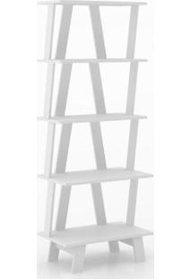 Estante Para Livros 5 Prateleiras Z Tecno Mobili Branco