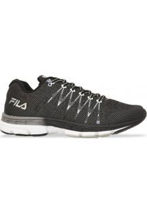 Tenis Fila Running Footwear Preto Branco