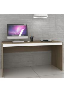 Mesa Para Computador Ho-2931 Avelã/Branco - Hecol