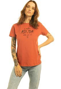 T-Shirt Nogah O Melhor Ainda Está Por Vir Terra Multicolorido