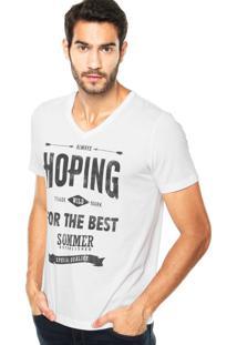 Camiseta Sommer Mini Hoping Branca