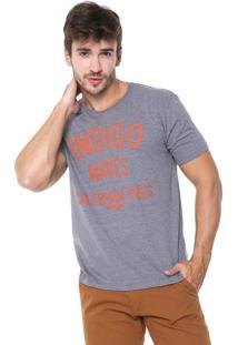 Camiseta Wrangler Waves Grafite