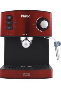 Cafeteira Expresso 20 Bar Inox Red Philco 127V