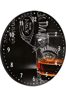 Relógio De Parede Jack Preto