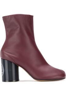 Maison Margiela Ankle Boot 'Tabi' - Marrom