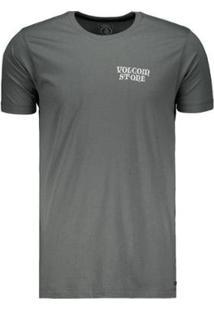 Camiseta Volcom Fit Dobby Long Masculina - Masculino