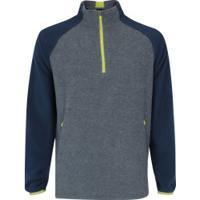 4a14514eaf Blusa De Frio Fleece Nord Outdoor Bicolor - Masculina - Cinza Esc Azul Esc