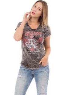 Camiseta Aes 1975 Lifestyle Feminina - Feminino