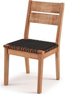 Cadeira Copa Assento Corda Preta 86Cm - 60392 - Sun House