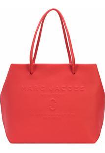 Marc Jacobs Bolsa Tote Com Logo Gravado - Vermelho