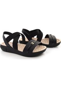 Sandália De Salto Baixo Modare