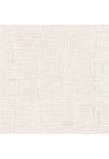 Papel De Parede Decor Branco E Bege 0.53X10M
