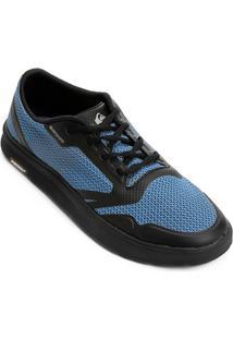 Tênis Quiksilver Amphibian Plus Masculino - Masculino-Cinza+Azul