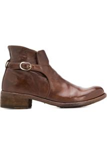 Officine Creative Ankle Boot Lison 25 - Marrom
