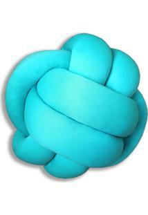 Enfeite Nã³ Malha Azul Tiffany - Azul/Cinza - Dafiti