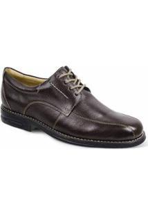 Sapato Social Derby Sandro Moscoloni Belson Masculino - Masculino-Marrom Escuro