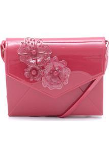 Bolsa Petite Jolie Flores Rosa