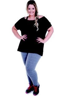 Camiseta Larguinha Deia Fitness - Feminino