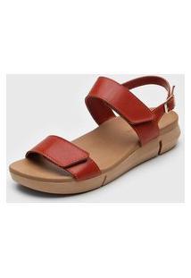 Sandália Bottero Casual Vermelha