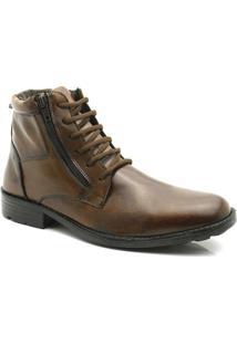 Botina Com Zíper 434 Keep Shoes - Masculino